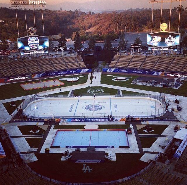 LA Kings x Dodgers collab