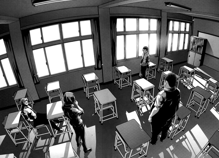 Read manga Prison School 126 Man on a Ledge online in high quality