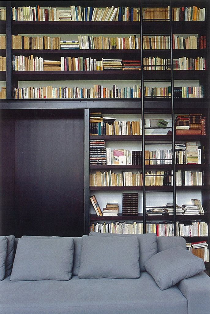 75 best bookshelves images on pinterest bookshelves bookcase and bookcases - Staircases with integrated bookshelves ...
