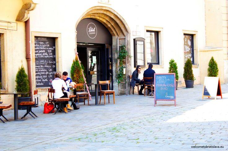MIRBACH PALACE - WelcomeToBratislava   WelcomeToBratislava - a cafe next to the City Gallery