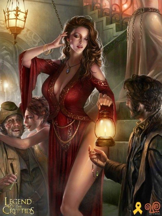 Abigail, dama de citas en pueblo Wylvania