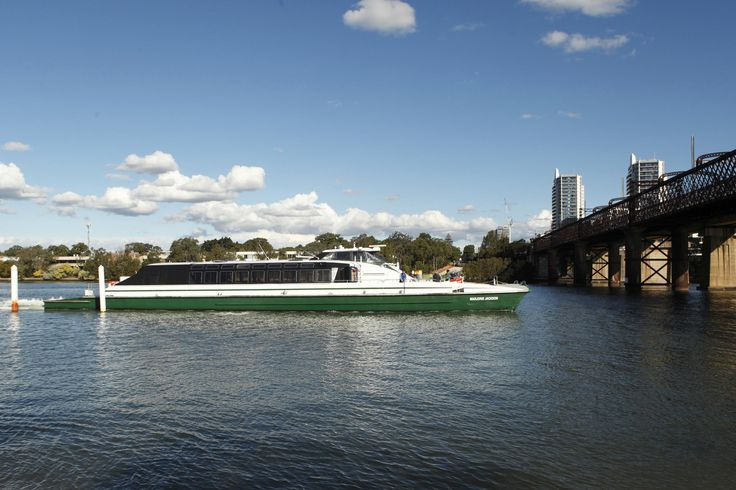 The ferry leaves Meadowbank Wharf, Meadowbank NSW #Meadowbank #MeadowbankFerry #Wharf #RydeLocal #CityofRyde