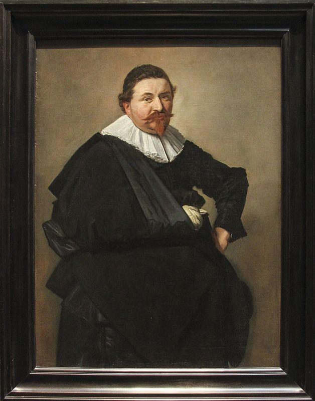 Portrait of Lucas de Clercq, Frans Hals, c.1635 | da Kotomi_