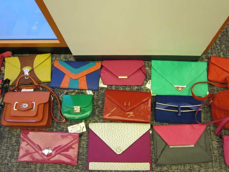 Anyone see any clutches they already can't live without? We're at four.: Envelope Clutches, Envelopes Clutches