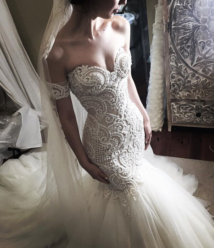 17 Best Ideas About Mermaid Wedding Dresses On Pinterest