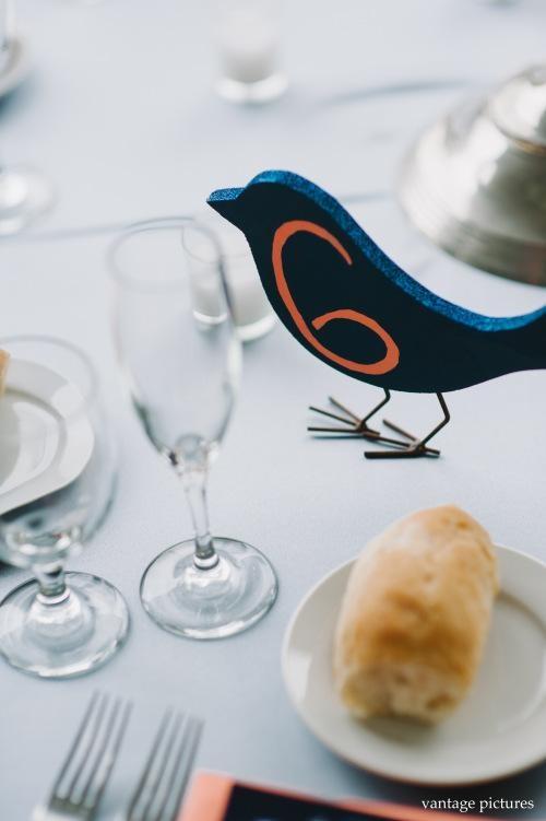 """Numéro de table """"Oiseau"""""""