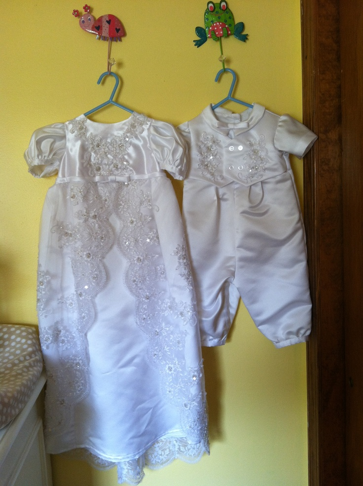 Simple your wedding dress turned into a dress and romper for your children