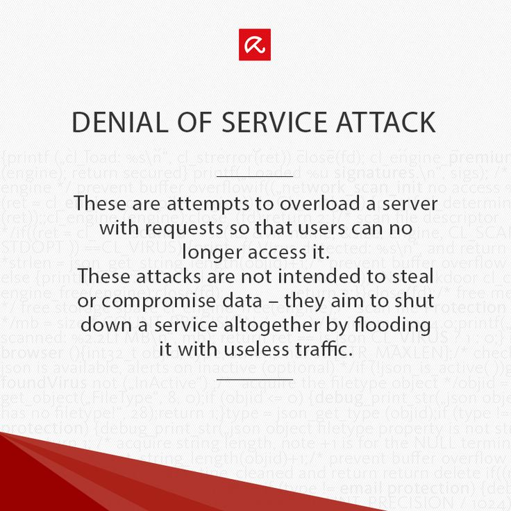 Wondering what a #DOS (Denial of service attack) is? Find out more in our glossary! #ITSecurity #infosec