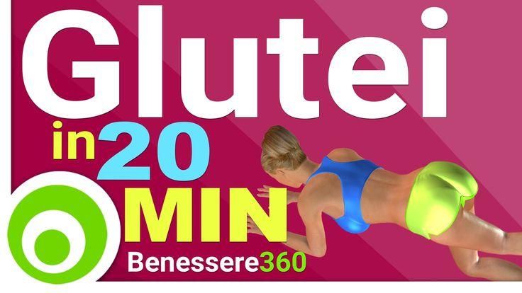 Esercizi per i glutei da fare a casa, allenamento di 20 minuti per avere glutei alti e sodi. ⦿ Calorie Bruciate: 140 - 250 ⦿ Frequenza di allenamento: ripeti...