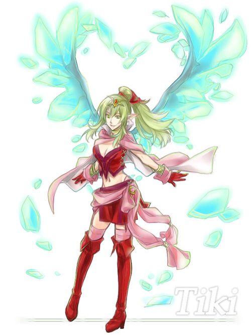 Tiki, from Fire Emblem Awakening   Female Clothing Ideas ...