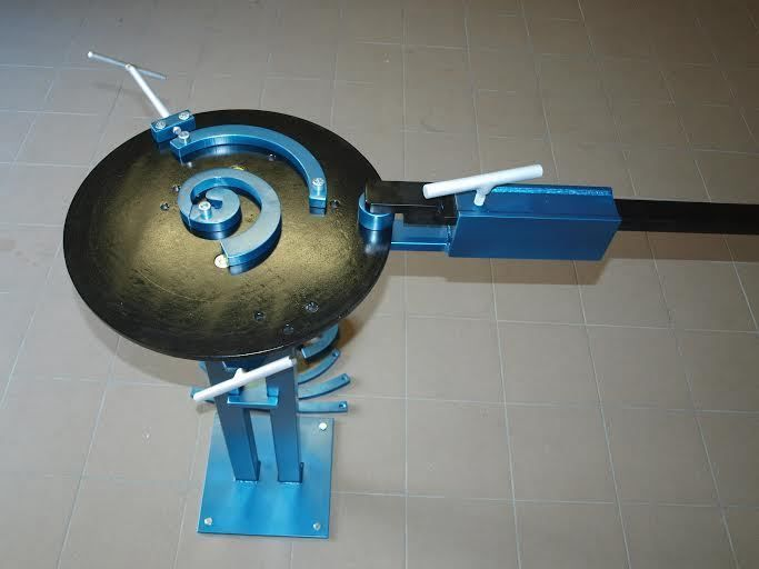 Universal bender - roller, scroll, bar and profile bender, ring roller, flat bar | eBay