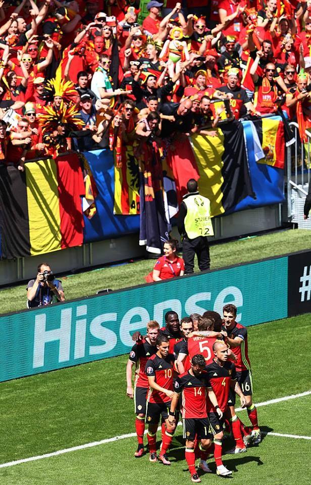 Belgium 3 - 0 Ireland (Qualification Euro 2016)