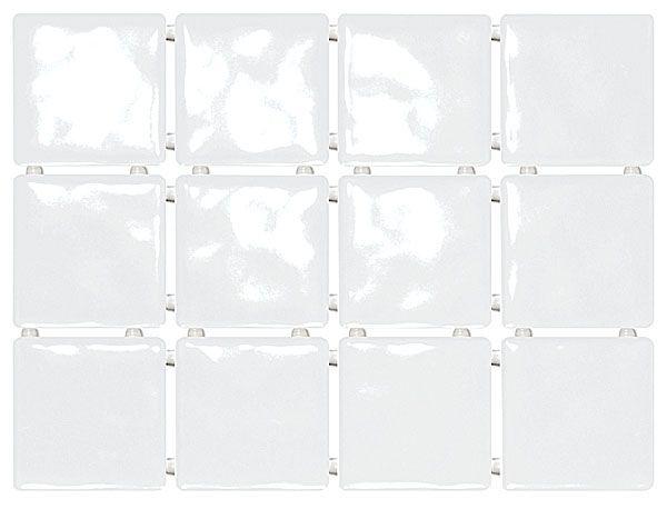 1236 | Бриз белый, полотно 30х40 из 12 частей 9,9х9,9