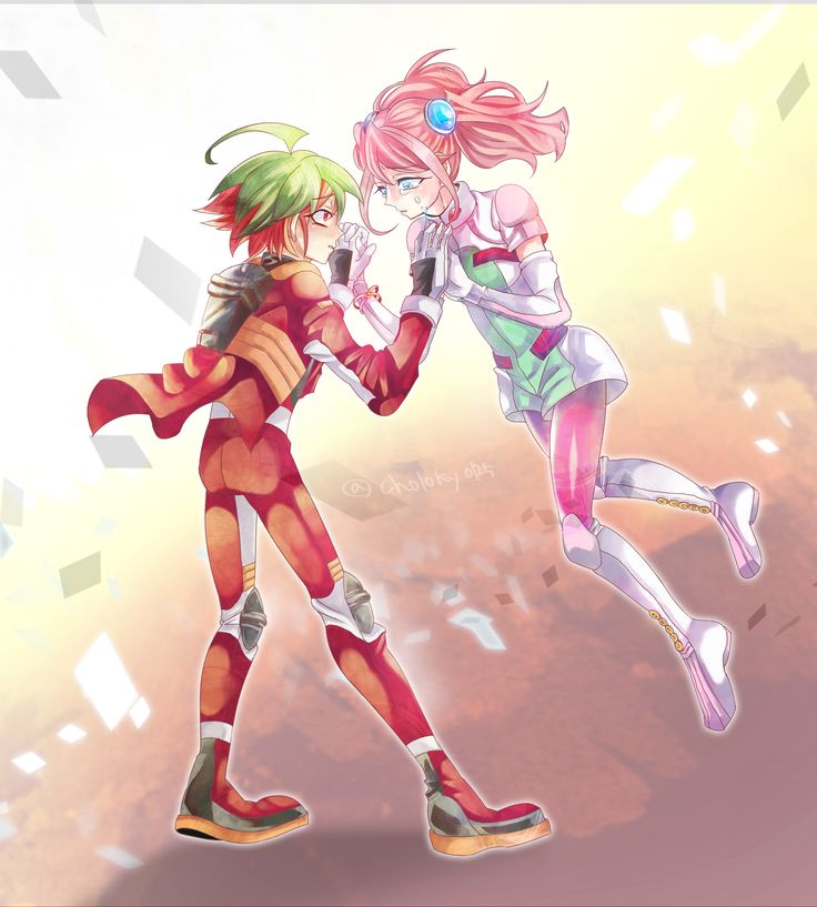 Yugioh - Yuya and Yuzu | Yugioh Arc v cute couple ...  Yugioh - Yuya a...