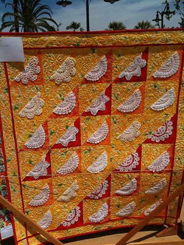 doily quilts | Doily Quilt # 31