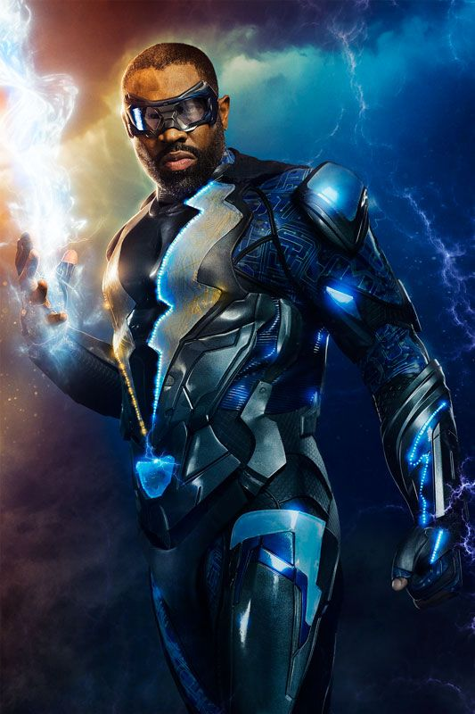 First Look: Black Lightning Comes to Life | DC - Visit to grab an amazing super hero shirt now on sale!