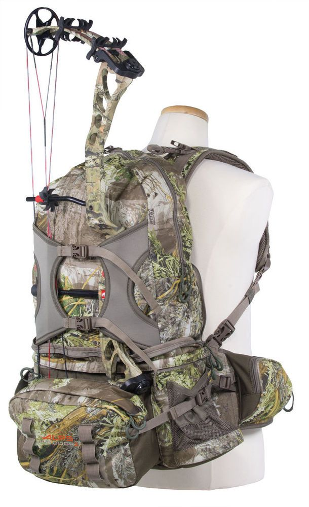New OutdoorZ Backpack Camping Hunting Archery Bow Pathfinder Carry Bag Pack Cam #ALPSMountaineering