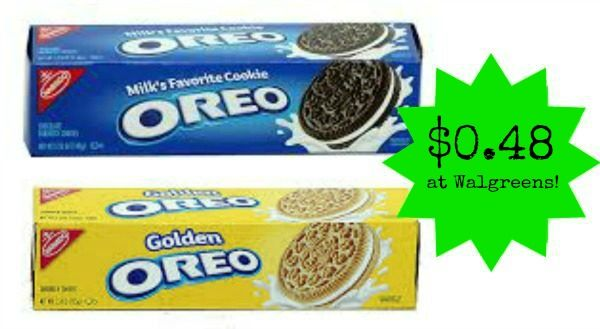 Walgreens: Nabisco Cookies or Crackers Only $0.48!