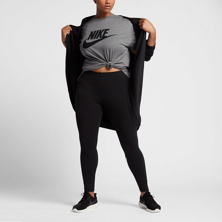 Obsessed with this plus size sportswear t-shirt.