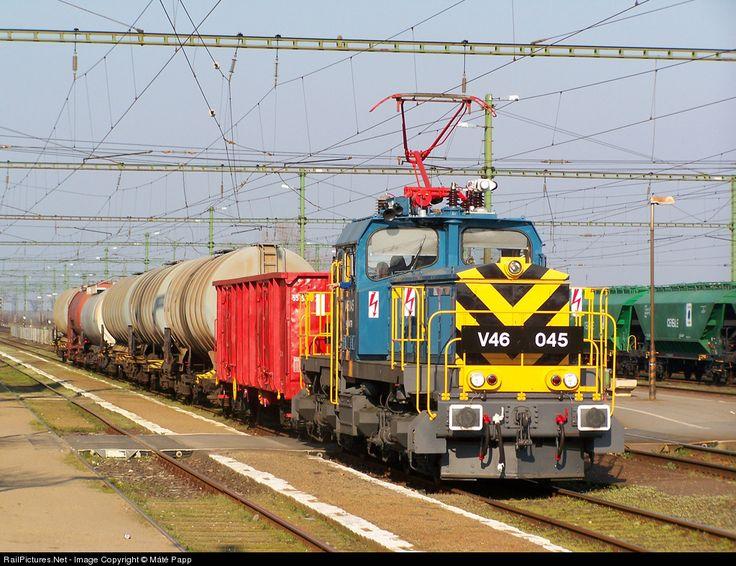 RailPictures.Net Photo: 045 Hungarian State Railways (MÁV) V46 at Hajdúszoboszló, Hungary by Máté Papp