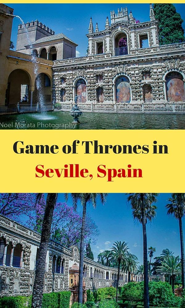 Game of thrones locations are amazing including this magnificent gardens and alcazar in Seville, Spain. Take a look at these stunning gardens and interiors on the blog. :