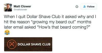 Email showdown: Harry's vs. Dollar Shave Club