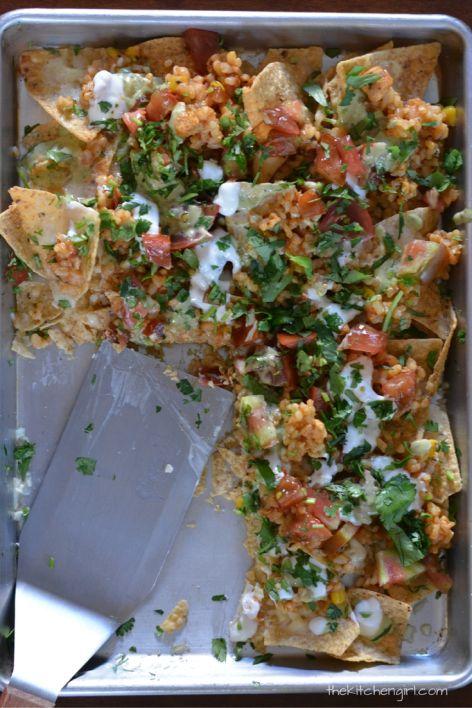 about Vegetarian Nachos on Pinterest | Nachos, Best Superbowl Snacks ...