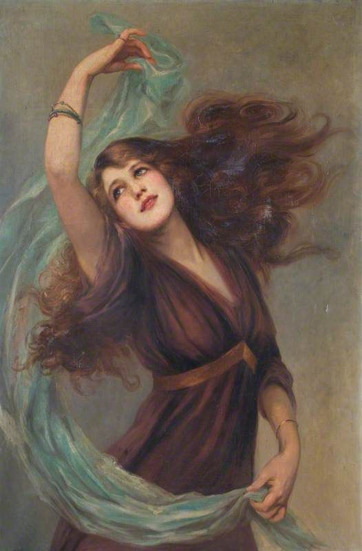 BEATRICE OFFOR, ESME DANCING, C. 1907-17