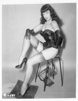 Bettie Page: Leather Pinup, Classic Pinup, Pinup Queens
