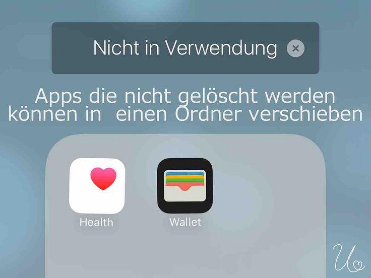 https://flic.kr/p/PNNKBD | iPhone + iPad Tipp | Sammle nicht benötigte Apps, die sich nicht löschen lassen, wie z.B. Health oder Wallet, in einem Ordner auf dem letzten Home Screen.