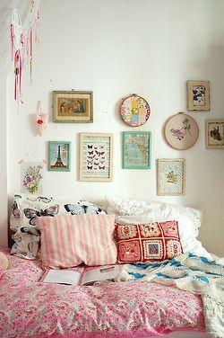 vintagehome: (via Casa e Jardim: Ambiance feminino chez Jasna Janekovic)