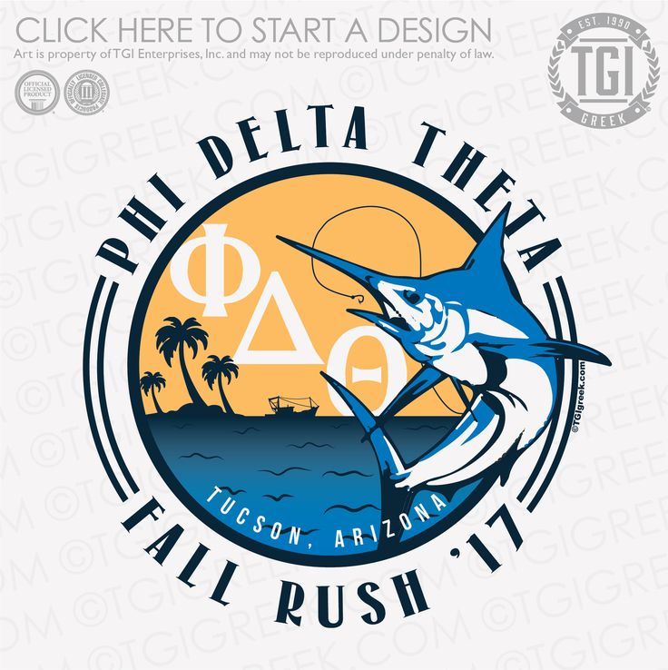Phi Delta Theta | ΦΔΘ | Fall Rush | Fraternity Rush | Rush Shirt | TGI Greek | Greek Apparel | Custom Apparel | Fraternity Tee Shirts | Fraternity T-shirts | Custom T-Shirts