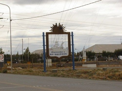 Rio Gallegos, Santa Cruz, Argentina.
