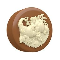 Chocolate Covered Oreo Cornucopia Sandwich Cookie Mold by SpinningLeaf