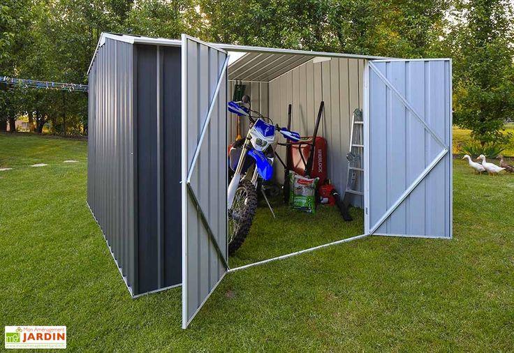 abri de jardin en acier galvanisé à chaud colorbond 5 couches