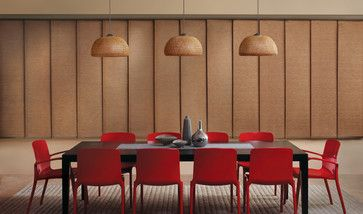 17 best ideas about contemporary window treatments on for Modern dining room window treatments