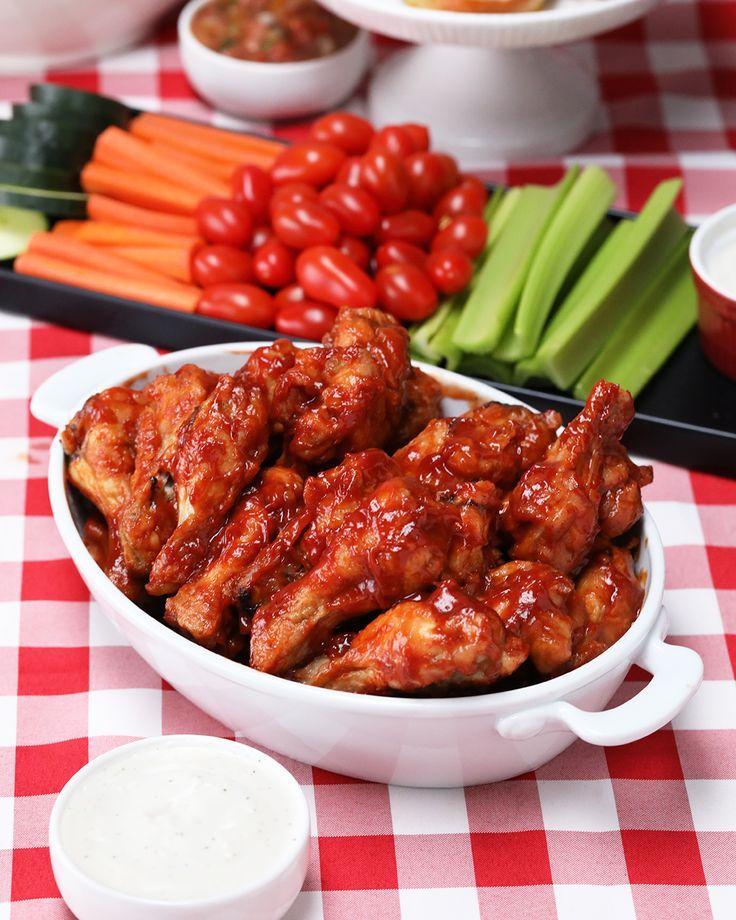 Apple BBQ Wings