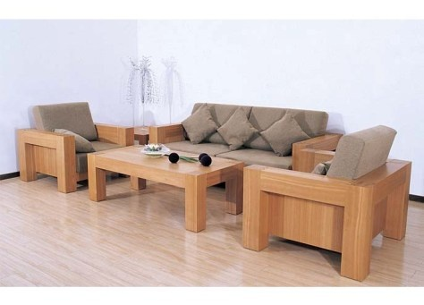 wooden living room furniture - Simple Living Room Chairs