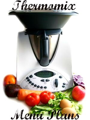 Quirky Cooking: Thermomix Menu Plans