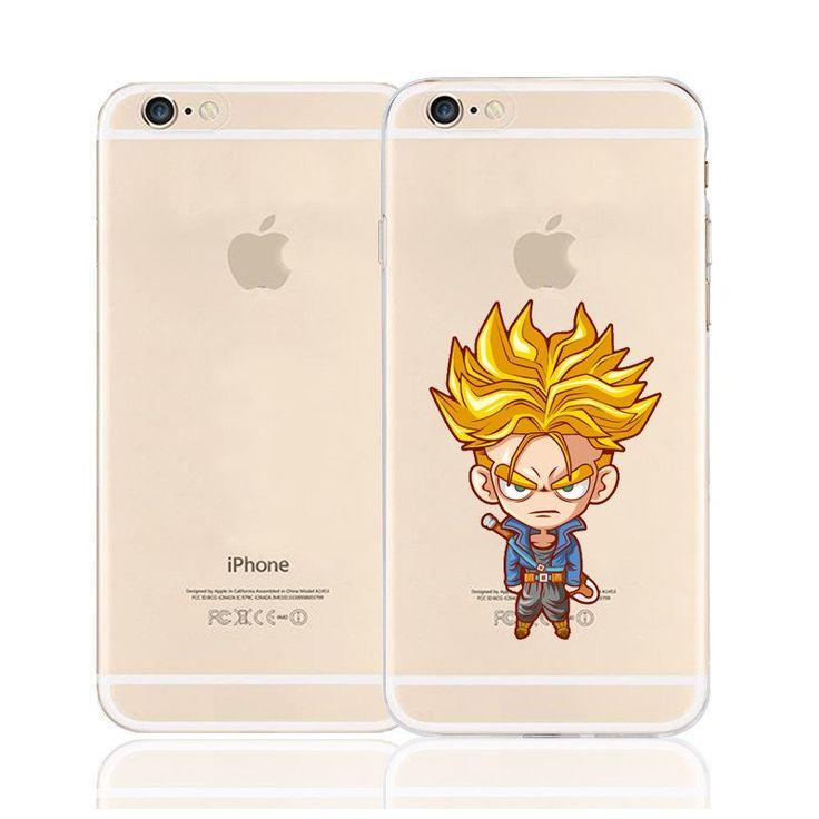 Cute Angry Trunks Super Saiyan Character Back Cover for iPhone 6 6s Plus    #Cute #Angry #Trunks #Super #Saiyan #Character #Back #Cover #for #iPhone #6 #6s #Plus