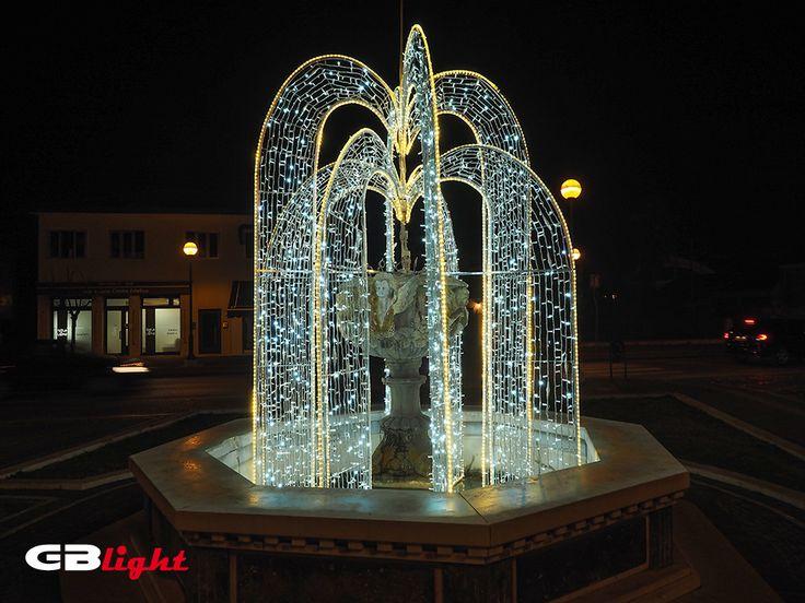 Inverno... Fontana...  Spettacolo...