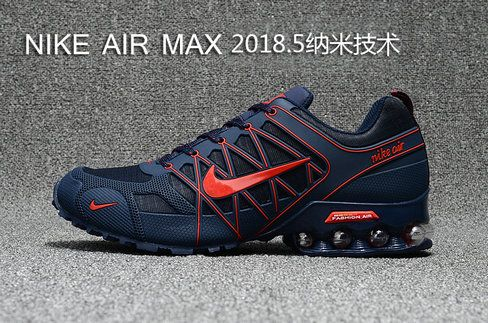 the latest 1fc70 7ee4d Nike Shox Air Max 2018.5 KPU Dark Blue Red | shoes 2018 in ...