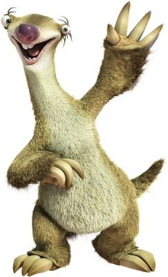 """Ice Age: Sub-Zero Heroes - Sidney """"Sid"""" (John Leguizamo) is a ground sloth who is clumsy, annoying, slow moving, fast-talking, unintelligent, unfit, and unattractive member with a good heart. Little is known from Sid's life other than that Sid once lived in a tree with other sloths that always wanted to leave Sid behind when the migration occurred, using several different ways to leave him behind."""