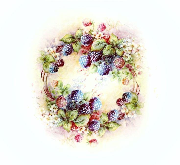 картинки с ягодами декупаж что
