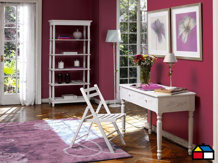 Muros color malva #Sodimac #Homecenter #Pinturas #Diseño #Colores