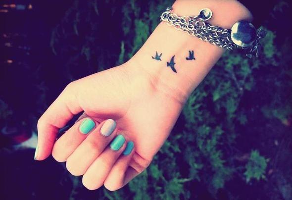 Über Handgelenk Tattoos ?? (Schmerzen, Tattoo)