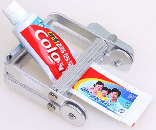 Toothpaste, Paint Tube Squeezer Best Offer. Best price Toothpaste Squeezer, Metal Toothpaste Tube Squeezer, Paint Tube Wringer for Artist, Hair Salon, Painter. Overwhelming Duty: Made of aluminum amalgam. Toothpaste, Paint Tube Squeezer #Toothpaste #PaintTubeSqueezer