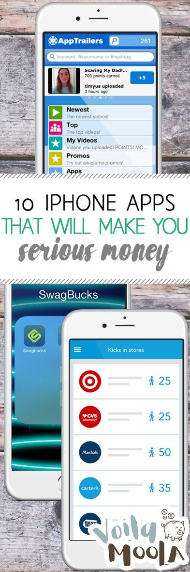 10 iPhone Apps That Will Make You Serious Money| iPhone Apps, Money Making Apps, Make Money With Your iPhone, Money Making 101, Easy Ways to Make Money, Make Money Fast, Fast Ways to Make Money #MakeMoney #SideHustles #WorkFromHome