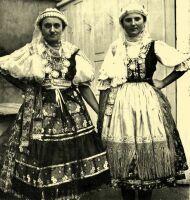 Hungarian folk costumes