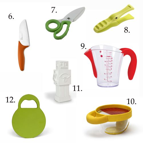 17 cooking tools for kids in the kitchen via Make and Takes